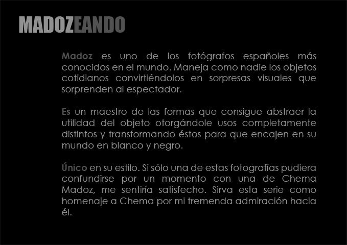 Madozeando #1